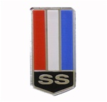 1993 - 2002 Header Panel Emblem, Super Sport, SS Custom, USA Made