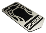 "1993 - 2002 Header Panel Emblem, ""Z28"" Logo with Bowtie, Stainless Steel, USA Made"