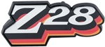 1978 Camaro Z28 Fuel Door Emblem, RED