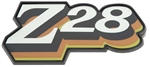 "1978 Fuel Door Emblem, ""Z28"" Logo, GREEN"