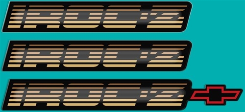 Z28 CAMARO USED OEM PARTS IROC-Z Dash Emblems 1982-1992