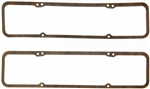1967 - 1986 Camaro Valve Cover Gaskets, Small Block Chevy, Cork Fel-Pro USA MADE