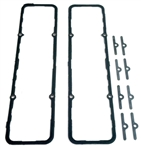 1967 - 1986 SBC Valve Cover Gaskets, Fel-Pro PermaDryPlus, Small Block, Pair