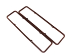 1967 - 1986 Valve Cover Gaskets, Small Block, Rubber Composite