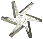"1967 - 1981 Camaro Engine Cooling Performance Flex Fan, 17"" Stainless Steel Blades"