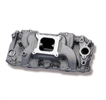Weiand Stealth Aluminum Intake Manifold 396ci - 502ci for use with High Performance Oval Port Heads