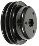 1969 - 1974 Camaro 302 and Z28 2 Row Deep Groove Crankshaft Pulley, 3956668