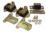 "1969 - 1972 Chevy Camaro Polyurethane Engine Motor Mounts and Transmission Mounts Set, 2-3/8"" Tall and Narrow"