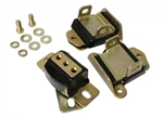 "1967 - 1972 SBC / BBC Engine Motor Mounts and Transmission Mounts Set, Polyurethane, 2-5/8"" Short and Wide"