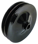 Camaro Power Steering Pump Pulley, 5-3/4 Inch Diameter, 2 Groove for AC