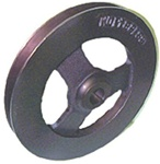 1967 - 1968 Camaro Power Steering Pump Pulley, Single Deep Groove Cast 3873847