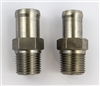1967 - 1969 Stainless Steel Heater Hose Fittings, Pair