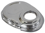 1967 - 1991 Timing Chain Cover, Small Block, Chrome