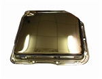 1967 - 1981 Transmission Pan, Automatic Turbo 350, Smooth, Chrome