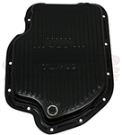 1967 - 1981 TH-400 Black Finned Transmission Pan, Automatic Turbo 400