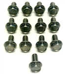1967 - 1981 Transmission Pan Bolts Set, Stainless Steel