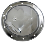1967 - 1981 Rear End Cover, Custom, 10 Bolt, Chrome, 8.5 and 8.5 Axle, With Drain Plug