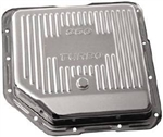 1967 - 1981 Transmission Pan, Automatic Turbo 350, Chrome, Finned