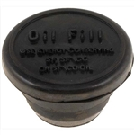 1967 - 1992 Valve Cover Oil Filler Cap, Rubber
