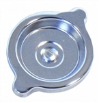 "Valve Cover Oil Filler Cap, CHROME Plated with ""S"" Rivet, OE Style"