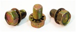 1967-1968 Crankshaft Pulley Bolt Set, Small Block Correct