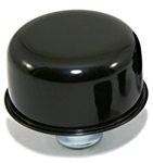 "Valve Cover Breather Cap, Black Push-In, 1"" Diameter"