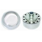 "Valve Cover Breather Cap, Chrome Push-In, 3/4"" Diameter"