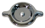 1967 - 1981 Valve Cover Oil Filler Cap, Twist On, Chrome