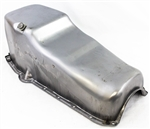 1967 - 1979 Camaro Oil Pan, Small Block, OE Style Raw Steel