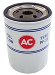 1968 - 1981 Oil Filter AC PF-35 ( Longer ) Red White and Blue - OE Style
