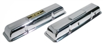 1967 - 1981 Small Block Chevy Chrome Valve Covers, Classic