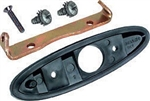 1970 - 1981 Camaro Exterior Bullet Door Mirror Mounting Bracket, Gasket and Hardware Kit, RH