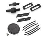 2010 - 2011 Camaro SS Exterior Kit (SS Badges, Front & Rear Bowties, Side Vent Gills, Reverse Lights, Fuel Door) - Black