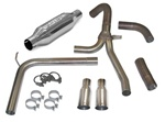 "1998-2002 Exhaust System, ""Loud Mouth II"" LS1 with 3.5"" Slash Tips"