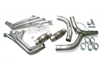 "1998-2002 Header Package, 1-3/4"" Long Tube LS1 with Y-Pipe/High-Flow Cats/Installation Kit"