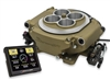 Holley Sniper EFI 4 Barrel Fuel Injection Conversion Self-Tuning Kit with Handheld EFI Monitor, Classic Gold Finish