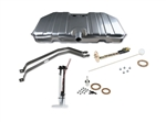 1969 Camaro Sniper EFI Fuel Tank System Kit with Notched Front Corners, 255 LPH