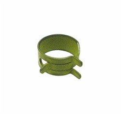 "Fuel Hose Pinch Squeeze Clamp for 3/8"" Gas Line, Correct Olive Green"