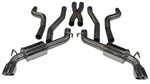 2010 - 2014 Exhaust System (Fesler Moss Signature Series), V8, Sport, Stainless Steel