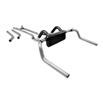 1967 - 1981 Camaro Flowmaster American Thunder Exhaust Kit, Crossflow Stainless Steel