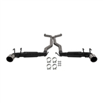 2010 - 2014 Exhaust System (Flowmaster Outlaw), Cat Back, Without Ground Effects