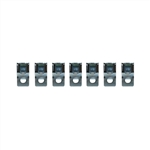 1969 Fuel Gas Line and Vent Return Line Clips Set, 3/8 - 1/4 Inch