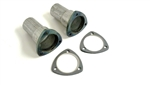 Exhaust Header Collector Reducers, 2.5 - 3 Inch, Pair