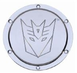 2010 - 2011 Camaro Transformers Decepticon Non-Locking Fuel Door - Chrome