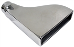 Exhaust Tip Side Inlet Custom Stainless Steel - Each