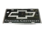 License Plate, Genuine Chevrolet
