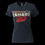 T-Shirt, Ladies Girl Power Camaro