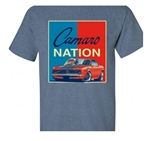 T-Shirt, 68 Camaro Nation, Red, White, and Blue
