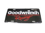 License Plate, Goodwrench Racing