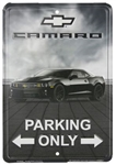 Sign, Metal, Fifth Generation Camaro Parking Only